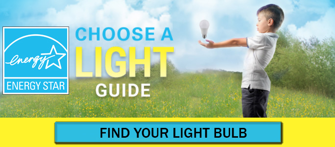 Choose a Light Guide - A tool for finding the right ENERGY STAR light bulb.
