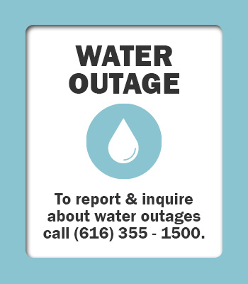 Outage Button Water